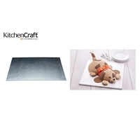 200mm Square Cake Board, Kitchen Craft