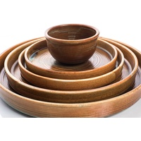 255mm Stackable Plate Nourish fired earth from Cheforward