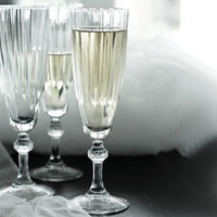 170ml Diamond Champagne Flute by Pasabahce