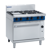 Blue Seal  G506D  Gas Static Oven With 6 Hobs - 900mm Wide