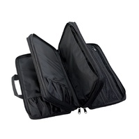 Grey Knife Roll Cheftech 18 Pockets With Shoulder Strap,