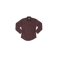 Brown Denim Fremont Mens Long Sleeve Shirt(size) Chef Works