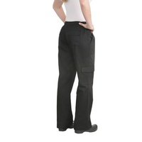 Womens Cargo Pants Black (size) Chef Works CPWO