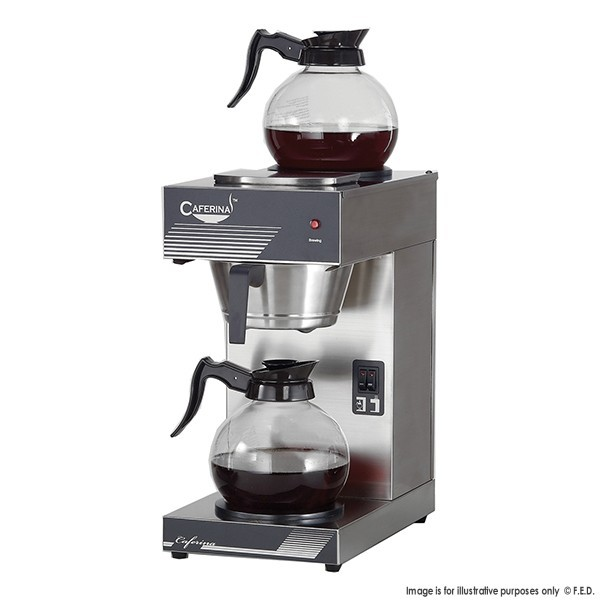 Caferina Filter Coffee Maker With 2 Glass Jugs