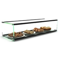 920mm Single Tier Glass Ambient Display case, EP20D 920 x 330 x 200, Sayl