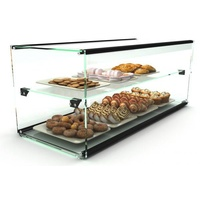 920mm Two Tier Glass Ambient Display case, EP36D 920 x 390 x 375, Sayl