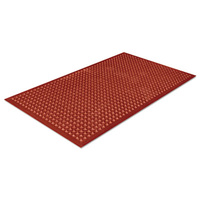 1500x900mm Anti-Fatigue Mat Terracotta