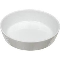 140 x 140 x 35mm Oslo Flan Dish - White