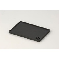 Coffee Tamp Mat Medium, 150 x 200mm, Black Food grade rubber
