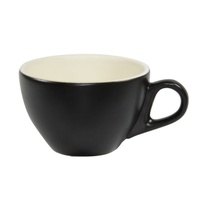 Latte Cup 280ml- Matt Smoke/White- Brew (fits #50 Saucer)