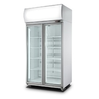 ICCOLD AU1000 Double Door Chiller