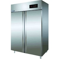 Frigrite BFA-14B S/S Double Door Freezer - 1440x820x2010mmH