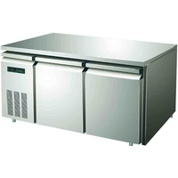 Frigrite GFA03B Horizontal Two Door Freezer With S/S Top - 1200x750x850mmH