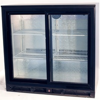 DELLWARE 2 Door Back Bar Chillers 900x520x870mmH (Hinged Or Sliding Doors)