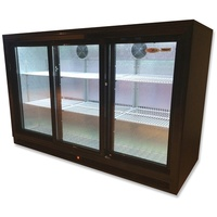 DELLWARE 3 Door Back Bar Chillers 1355x520x870mmH (Hinged Or Sliding Doors)