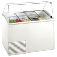 Framec Slant 510 Display Freezer with Glass Canopy