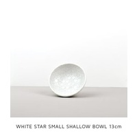 130mm Shallow Bowl White Blossom