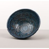 160mm Deep Bowl Copper Swirl