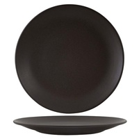 285mm Round Coupe Plate - Charcoal