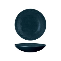 200mm Share Bowl Linen - Navy Blue