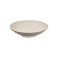 145mm Round Bowl White Swirl