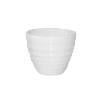 59mm Ripple Sauce Pot - White - 57ml,