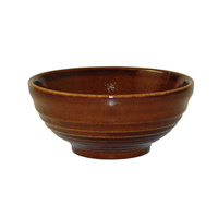 104mm Ripple Bowl - Cinnamon - 170ml