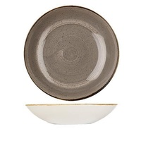 182mm Coupe Bowl - Peppercorn Grey