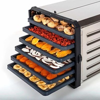 6 Tray S/S Dehydrator Pro Deluxe