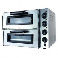 ElectMax EP2S Double Deck Pizza Oven (10amp) - 585x550x430mmH