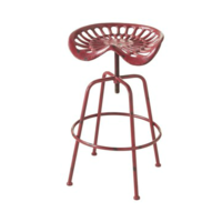 Tractor Chair Red