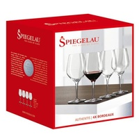 650ml Four Pack of Authentis Bordeaux Wine Glass, Spiegelau