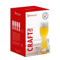 380ml Four Pack of Craft Beer Pilsner Glass, Spiegelau