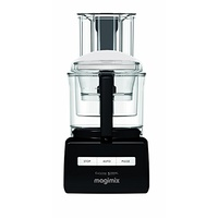 Magimix 5200XL Black Wide Chute Food Processor - 3.6 Ltr Bowl