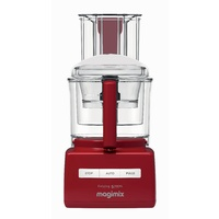 Magimix 5200XL Red Wide Chute Food Processor - 3.6 Ltr Bowl