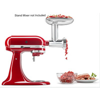 Metal Food Grinder/Mincer Kitchenaid Attachment