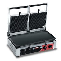 Panini Machine Double Sirman Ribbed Top/Flat Bottom