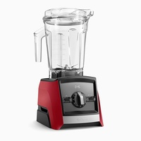 Vitamix A2300i Ascent Series Blender 1.9 litre jug with 1200-1400watt Motor with built in digital timer Red