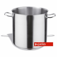 34 Ltr Stockpot Without Lid -Stainless Steel Pujadas - 350 x 350mm