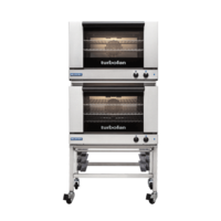 Moffat E27M3/2C Double Electric Convection Oven On Stand