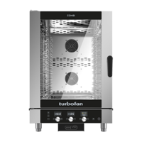 Moffat Turbofan 10 tray Digital Electric Combi Oven