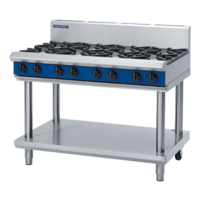 1200mm Blue Seal Gas Hob/Grill On Leg Stand