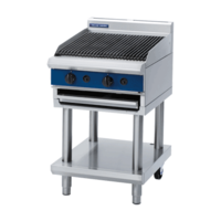 Blue Seal G594-LS Gas Chargrill On Leg Stand - 600mm Wide