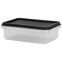 1.2 Ltr Rectangular Food Container, 192x136x66mm
