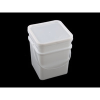 15 Ltr Pail Square Base & Lid
