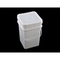20 Ltr Pail Square Base & Lid