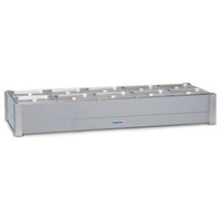 Roband Bain Marie With 6x1/2 Pans (100mm) & Lids - 1030x615x255mmH