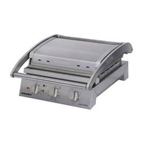 Grill Station - 6 Slice - Smooth Plates - 10 amp - Ideal for Panini's, Focaccia's, Toasted Sandwiches, Steak, Fish etc