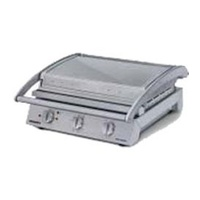 Grill Station - 8 Slice - Ribbed Top Plate - 10 amp - Ideal for Panini's, Focaccia's, Toasted Sandwiches, Steak, Fish etc8 Slice Contact Grill Ribbed