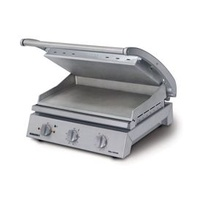 Grill Station - 8 Slice - Smooth Plates - 10 amp - Ideal for Panini's, Focaccia's, Toasted Sandwiches, Steak, Fish etc